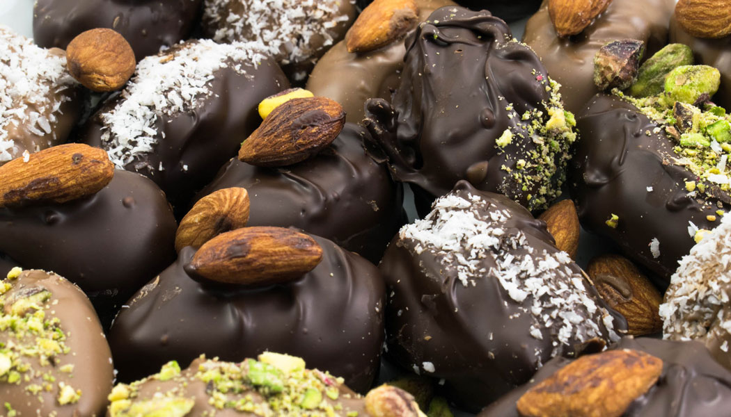 Chocolate Medjool Almond Dates