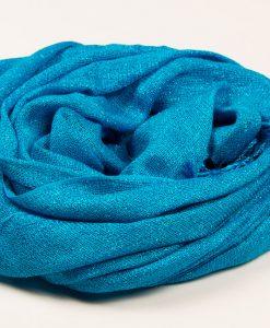 Sky Blue Shimmer Hijab