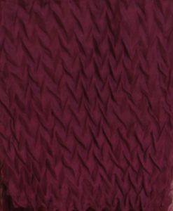 Burgundy Crinkle Hijab