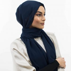 Everyday Chiffon Hijab Midnight Blue website