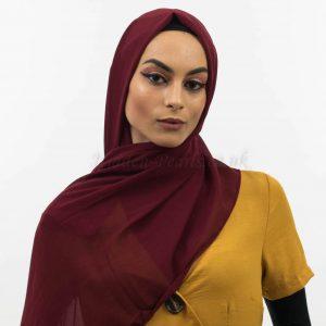 Everyday Chiffon Hijab Rosewood