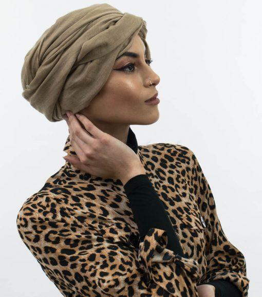 Maxi Plain Hijab - Camel - Hidden Pearls