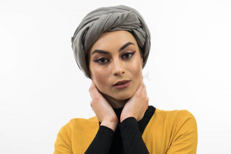 Maxi Plain Hijab Grey