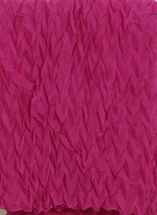 Pink Crinkle Hijab