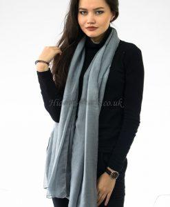 Plain Hijab Grey