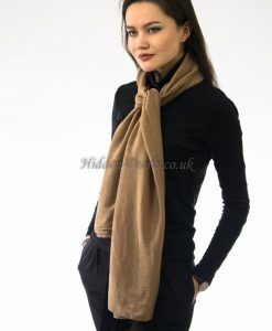 Plain Hijab Light Brown