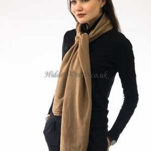 Plain Hijab Light Brown