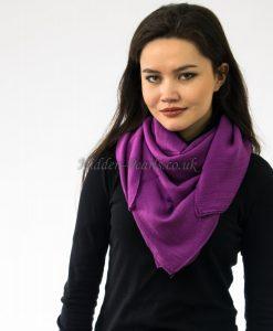 Plain Hijab Purple