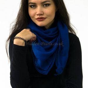Plain Hijab Royal Blue