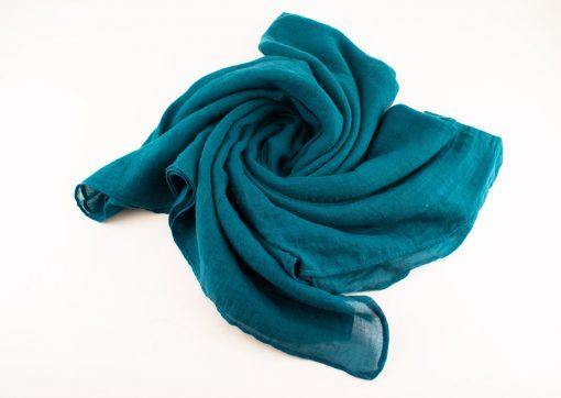 Plain Hijab Teal 2