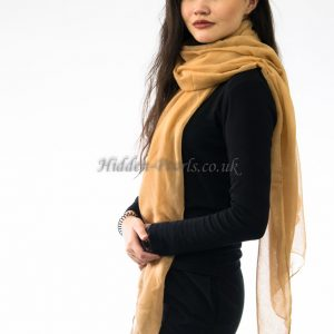 Plain Hijab Yellow Wheat 2