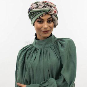 Silk Floral Hijab
