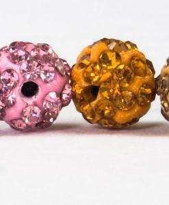 Diamante Globe Hijab Pins