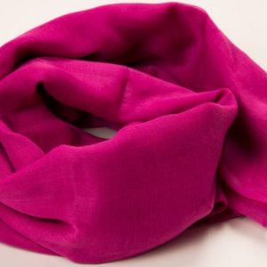 Shocking Pink Plain Hijab