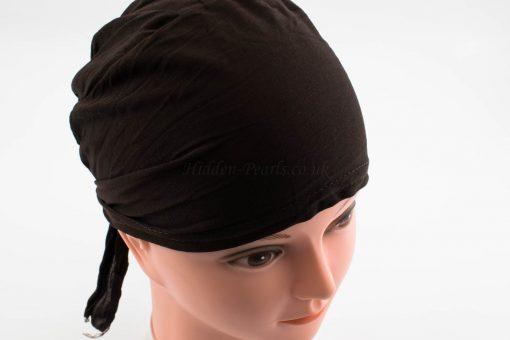 Bonnet Underscarf - Chocolate - Hidden Pearls
