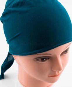 Bonnet Underscarf - Teal - Hidden Pearls