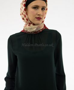 Turkish Hijab Polka Dot Red
