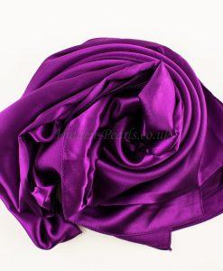 purple-plain-silk