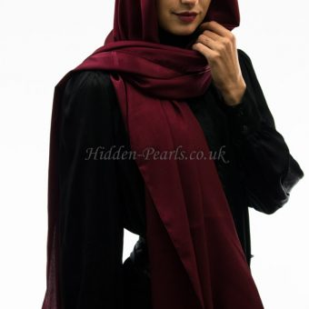 silk plain maroon2