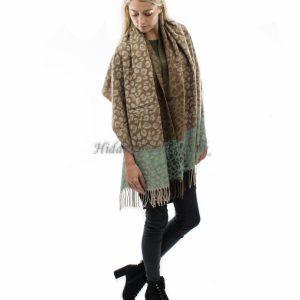 leapord 2 tone scarf