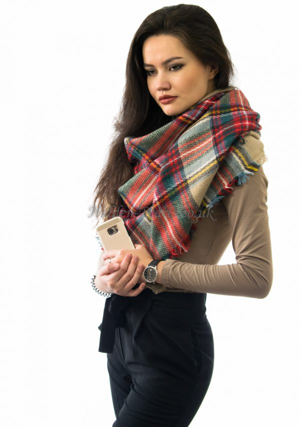 Oversized Scottish Scarf 2