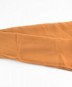 Chiffon Hijab Deep Apricot1