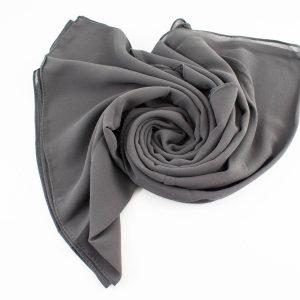 Chiffon Hijab Grey_