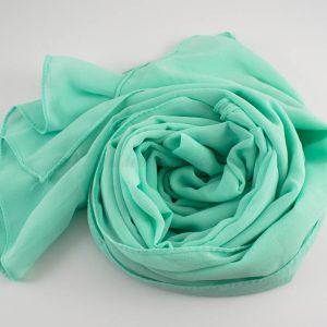 Chiffon Hijab Mint 5