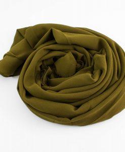 Chiffon Hijab Olive 4