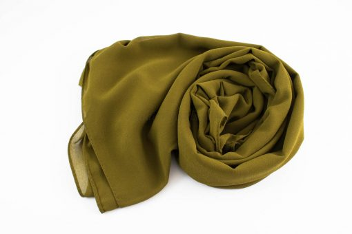 Chiffon Hijab Olive 6