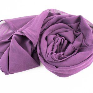 Chiffon Hijab Plum 2