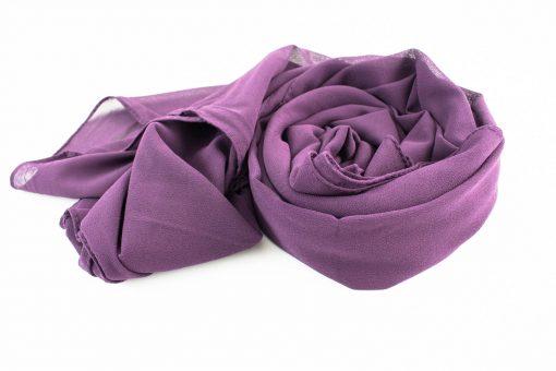 Chiffon Hijab Plum 3