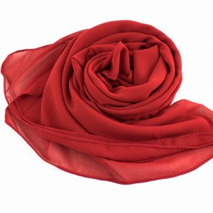 Chiffon Hijab Red 2