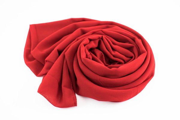 Chiffon Hijab Red 7