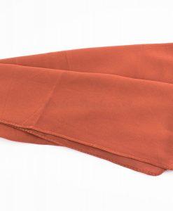 Chiffon Hijab Rust 1