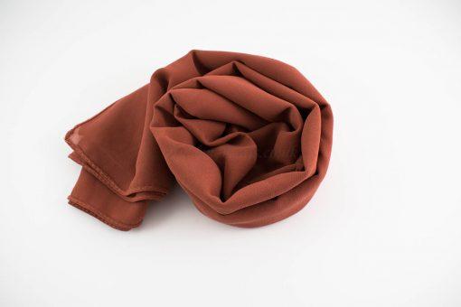 Chiffon Hijab Rust 2
