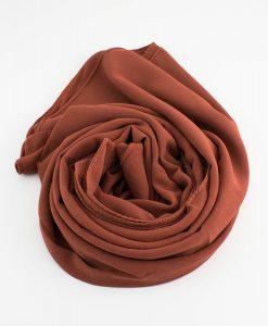 Chiffon Hijab Rust 5
