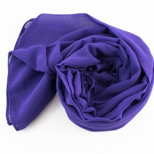 Chiffon Hijab Violet 2