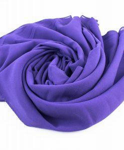 Chiffon Hijab Violet 3