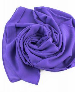 Chiffon Hijab Violet 4