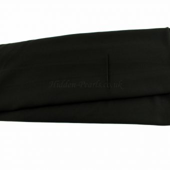 Chiffon Plain Black 2