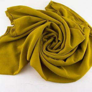 Chiffon Plain Golden Tan 2
