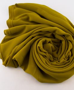 Chiffon Plain Golden Tan