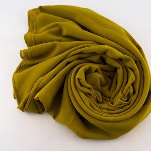 Chiffon Plain Golden Tan