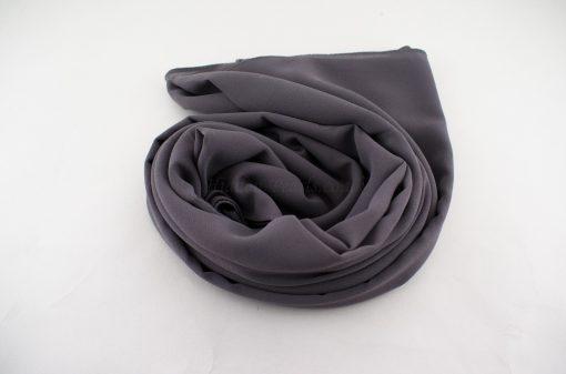 Chiffon Plain Grey 5