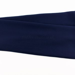 Chiffon Plain Navy Blue 2