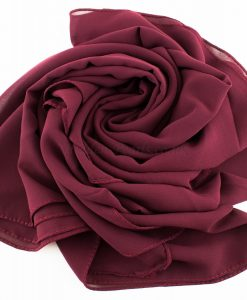 Chiffon Plain Rose wood 3