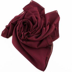 Chiffon Plain Rose wood 4