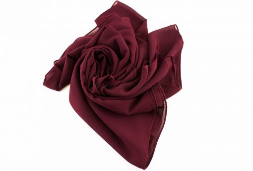 Chiffon Plain Rose wood 4