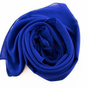 Chiffon Plain Royal Blue 2